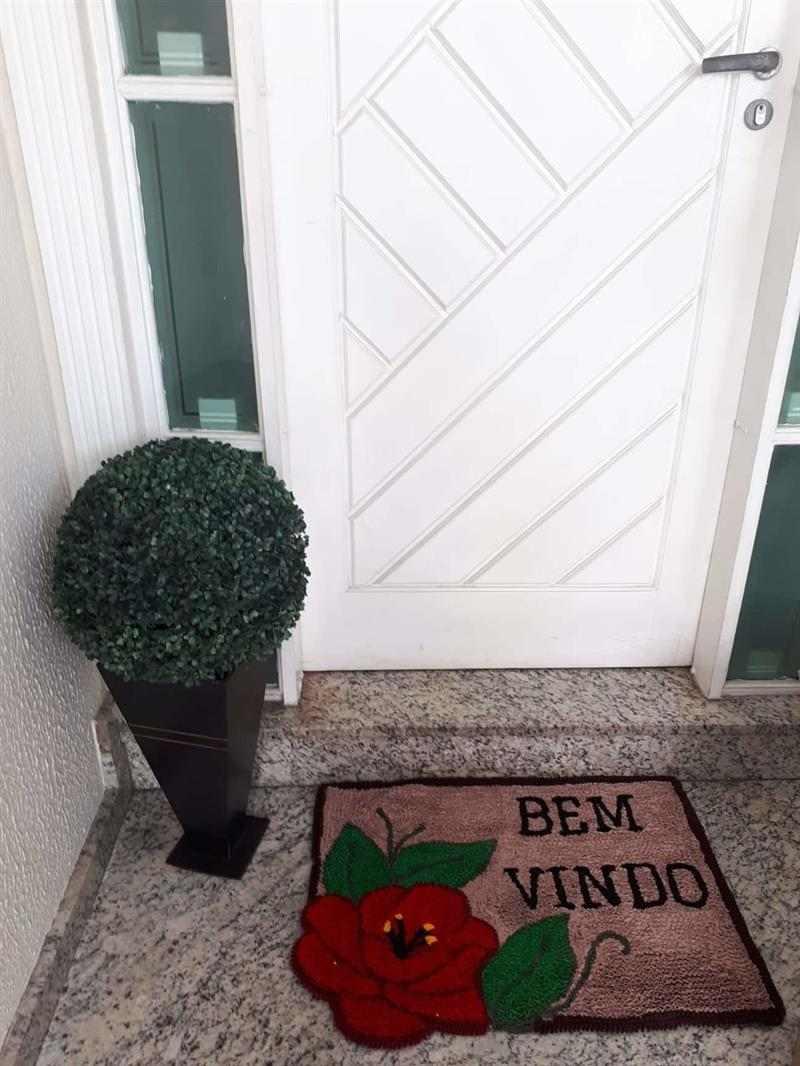 tapete de frufru para porta