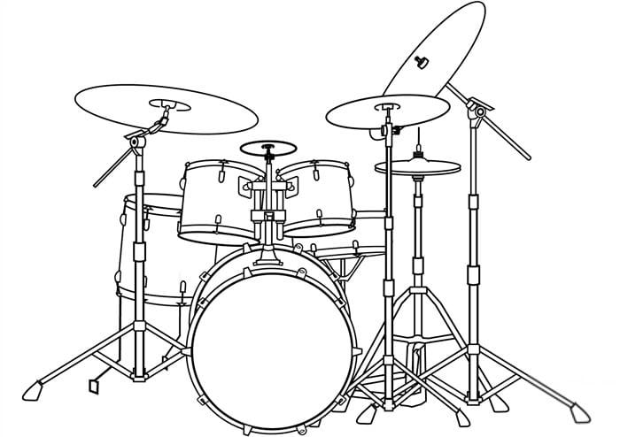 desenhos de instrumentos musicais faceis de desenhar
