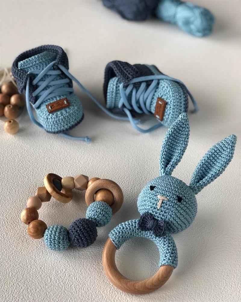 croche moderno para bebe