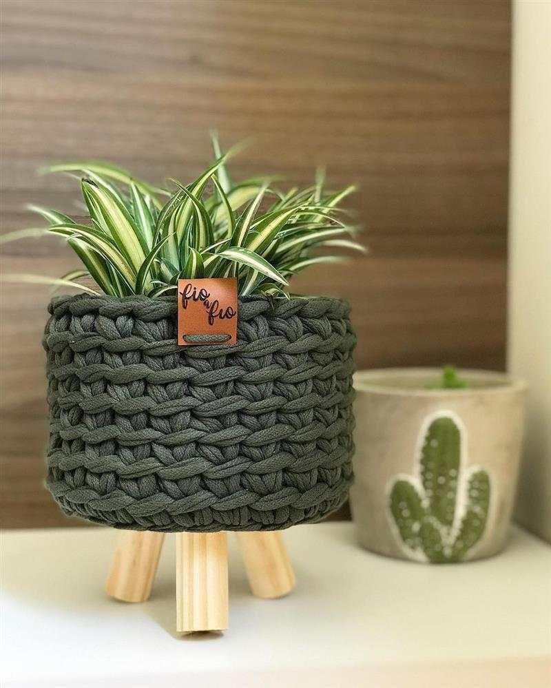 cachepo para vaso de planta