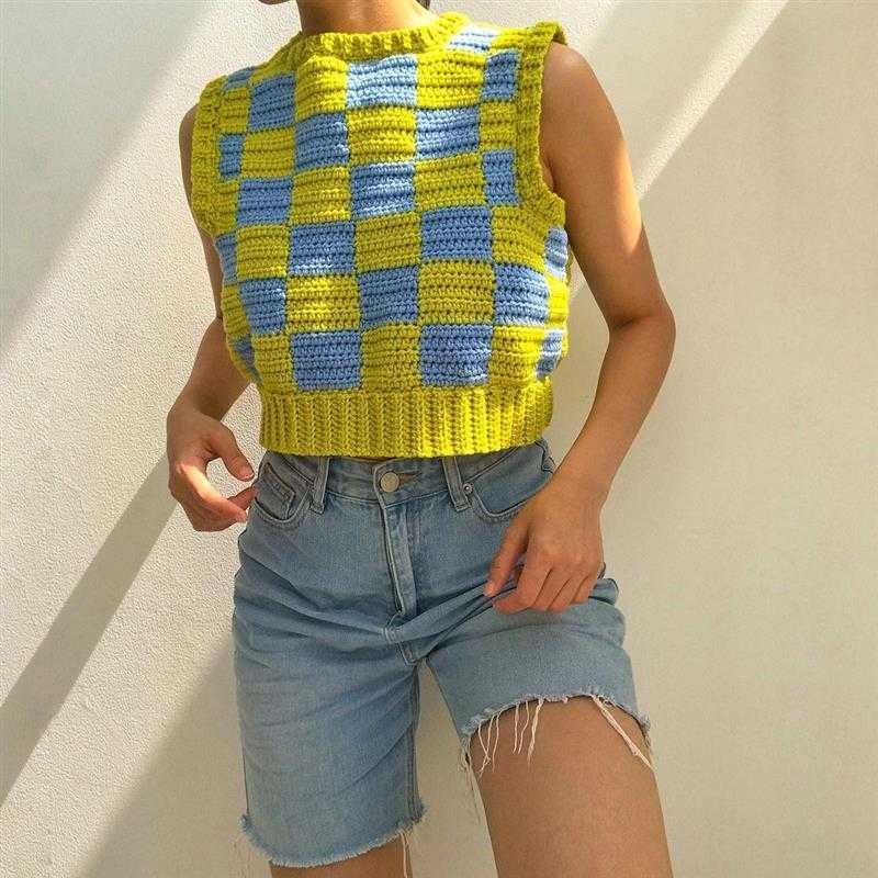 blusa de croche feminina