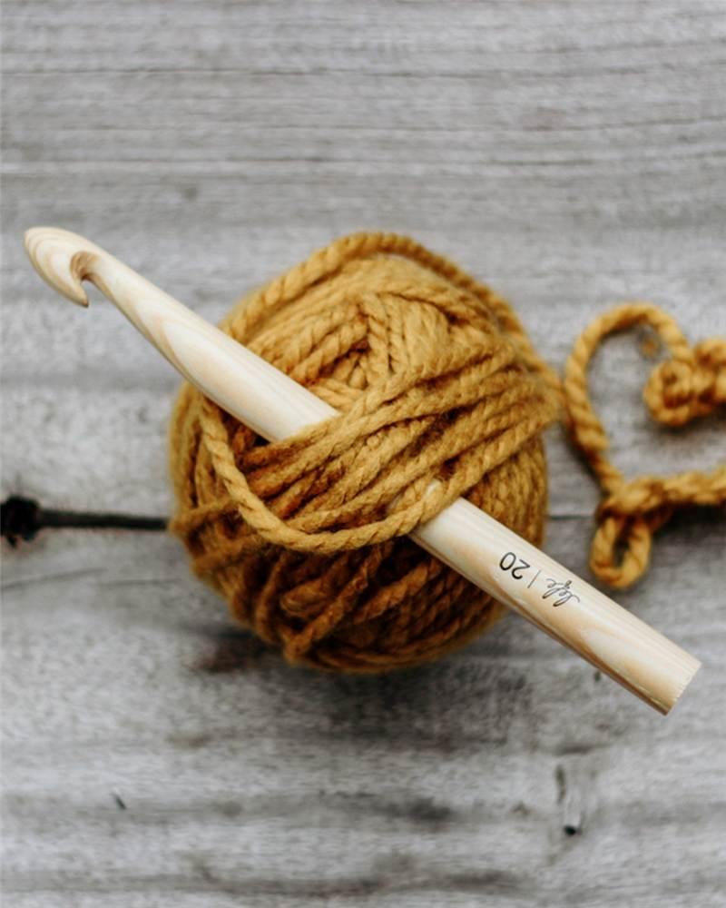 maior número de agulha de crochê