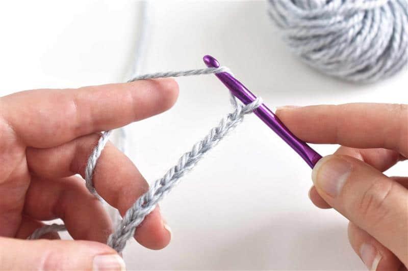 Pontos de crochê mais usados