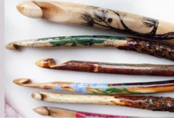 agulhas de croche artesanais
