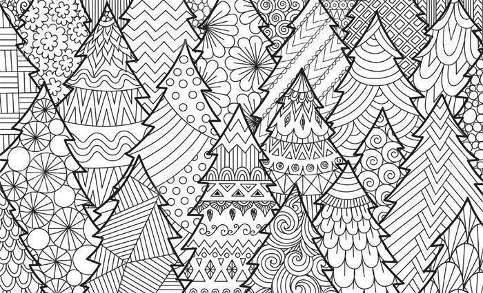 Desenhos para adultos colorir de natal