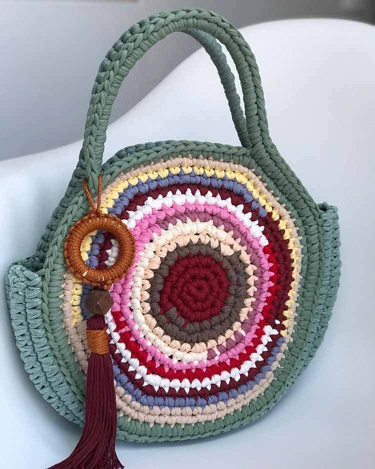 bolsa para praia boho hippie