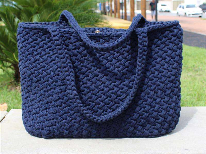Bolsa de praia azul