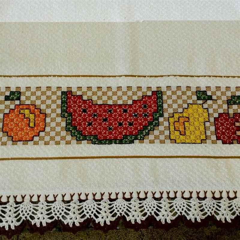 bordar em tecido para cozinha