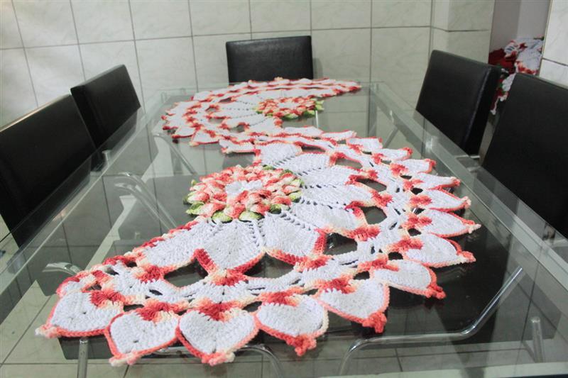 Trilho de mesa artesanal