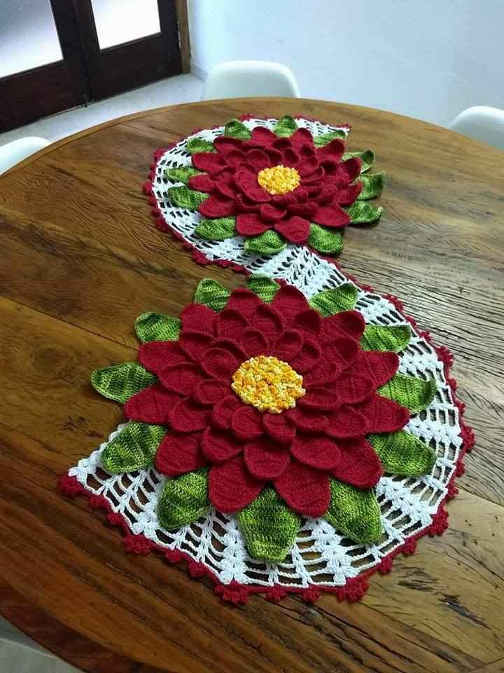 flor gigante vermelha