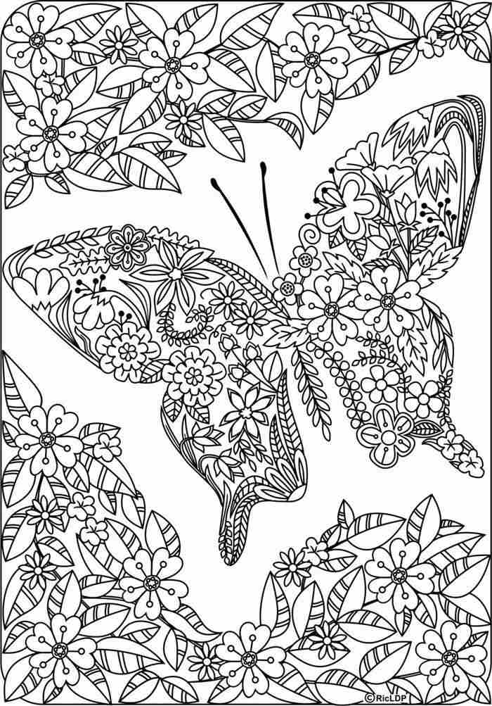 desenho para colorir antiestresse