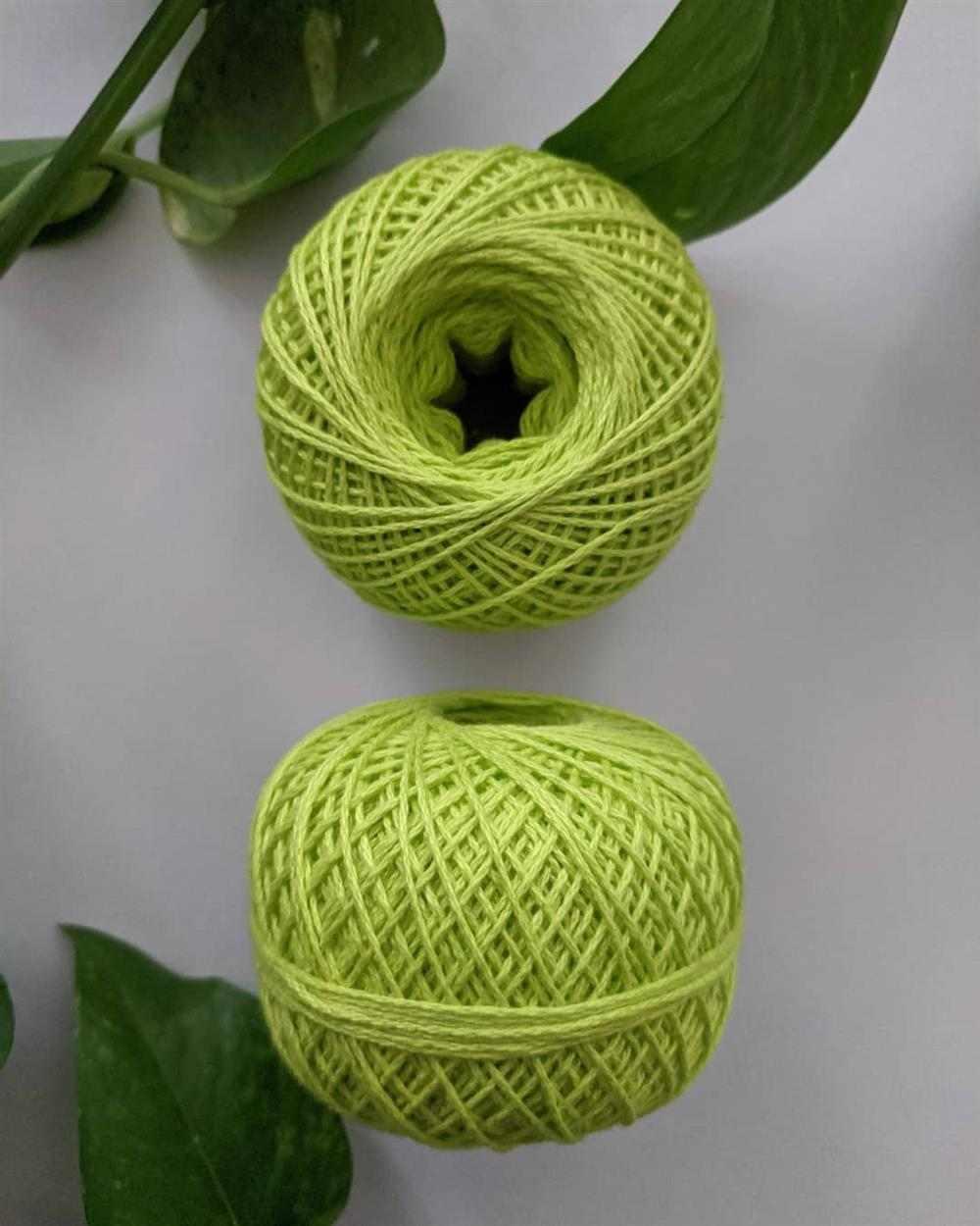 tipos de linha de crochê