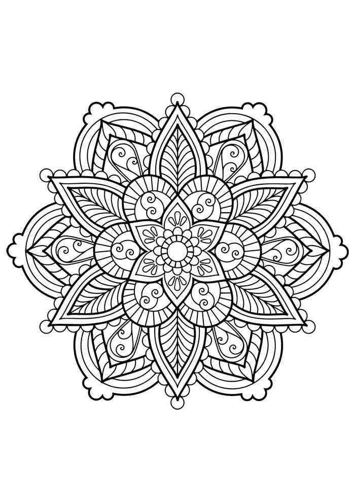 mandala Desenhos para adultos colorir