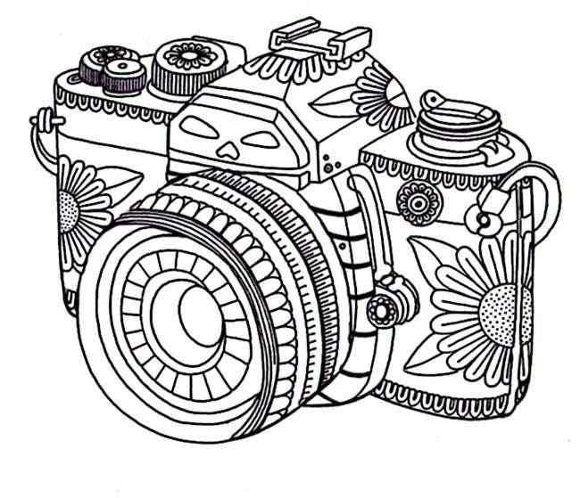 maquina de foto para adulto colorir