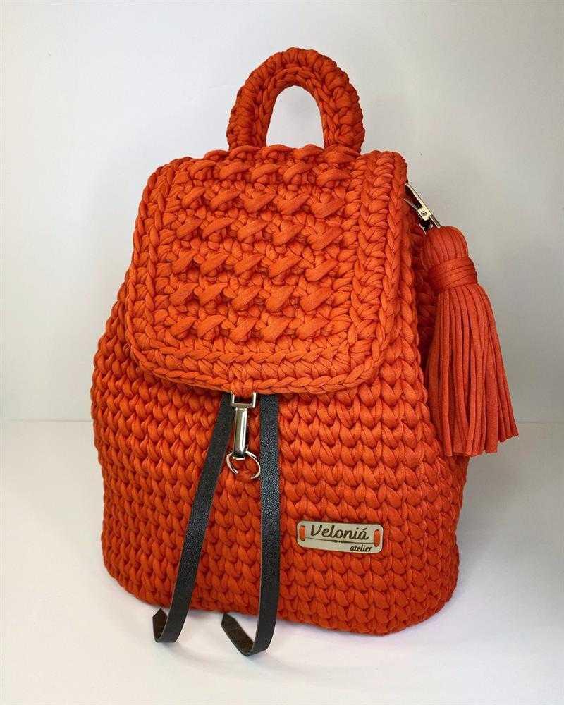 mochila laranja