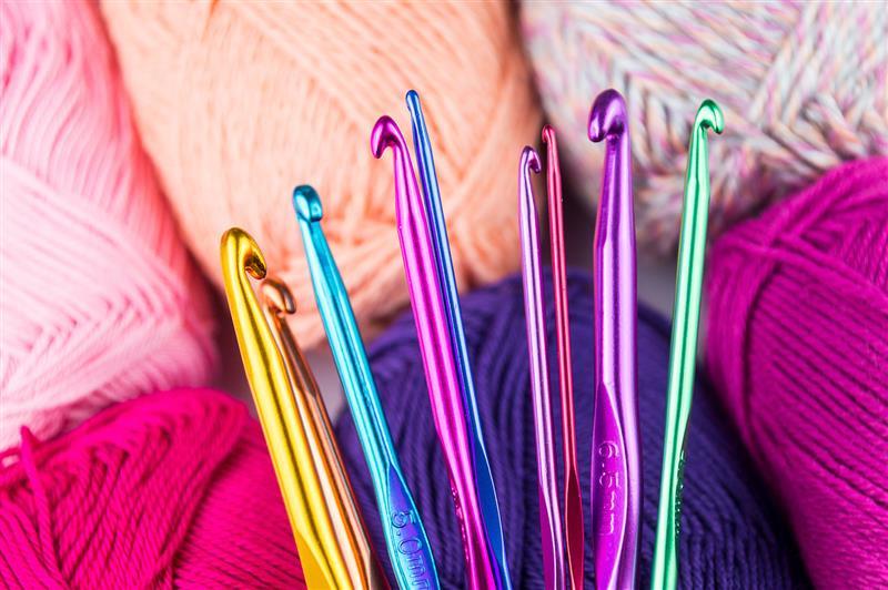 como escolher a agulha de croche