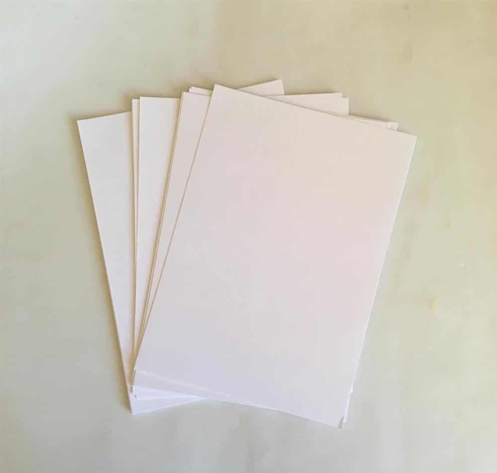diferença do papel offset para o sulfite