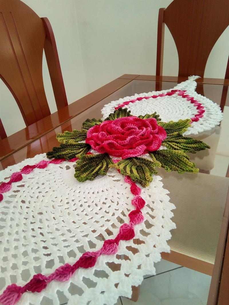 abacaxi com rosa
