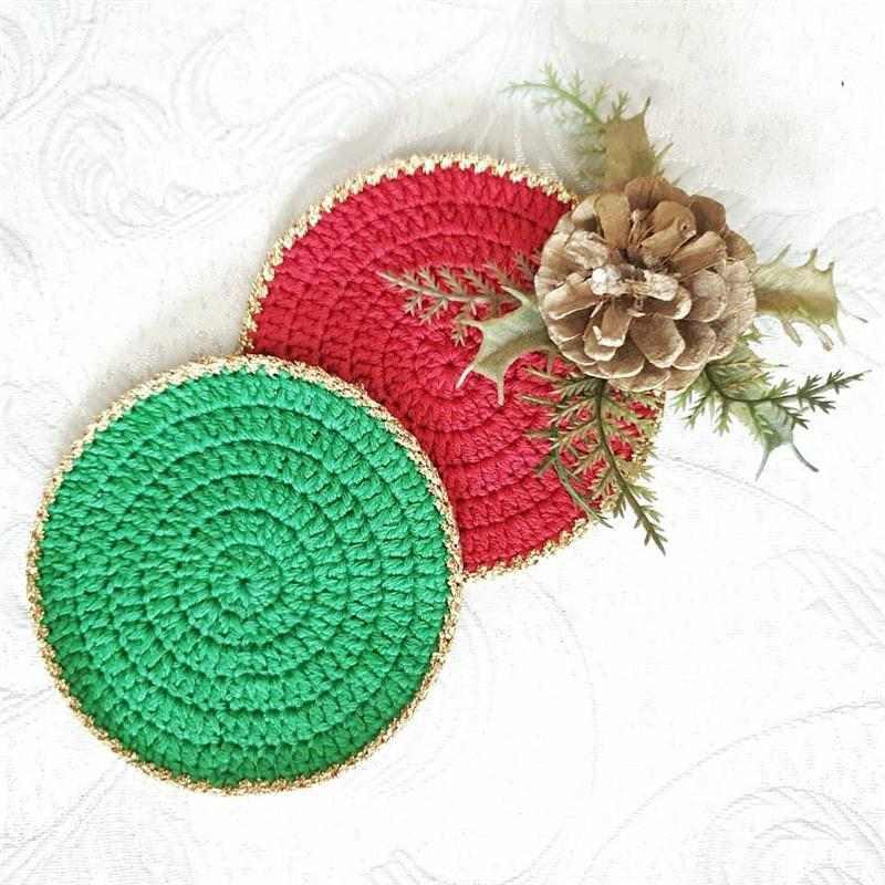 vermelho e verde natalino