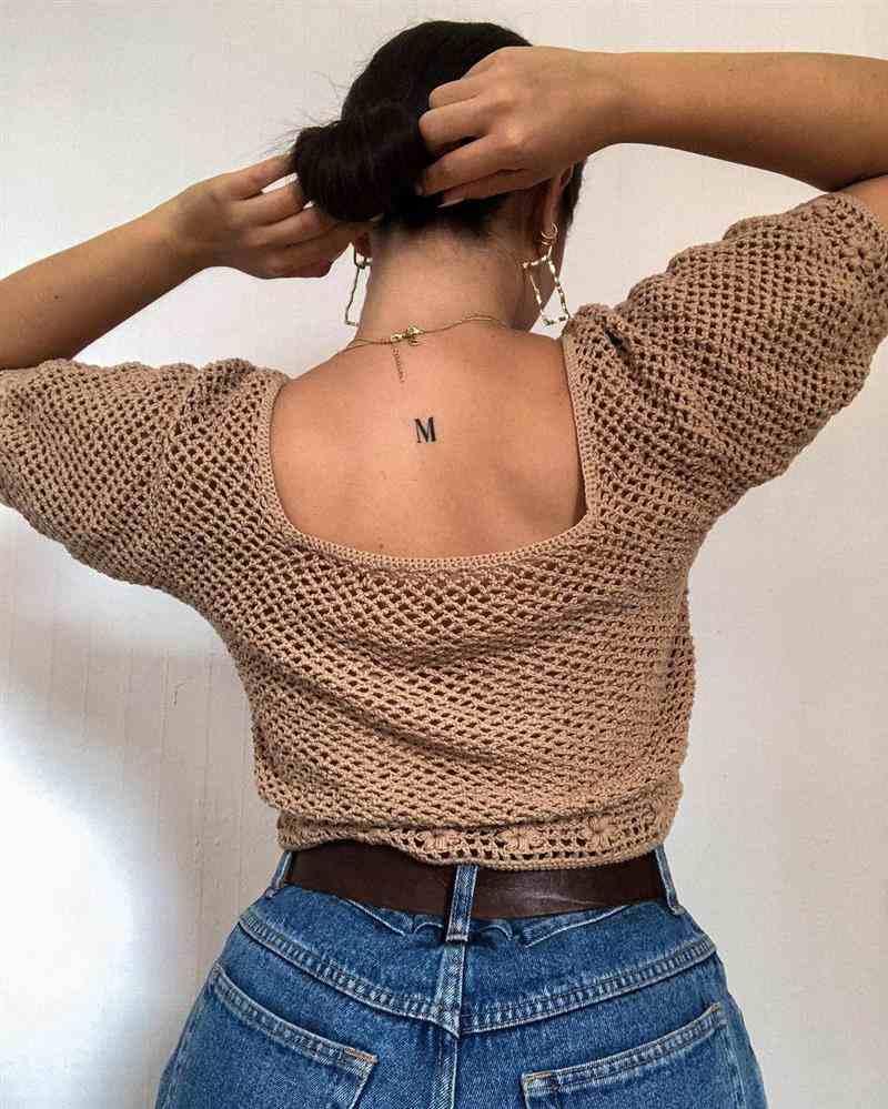 Blusa de crochê fácil de fazer