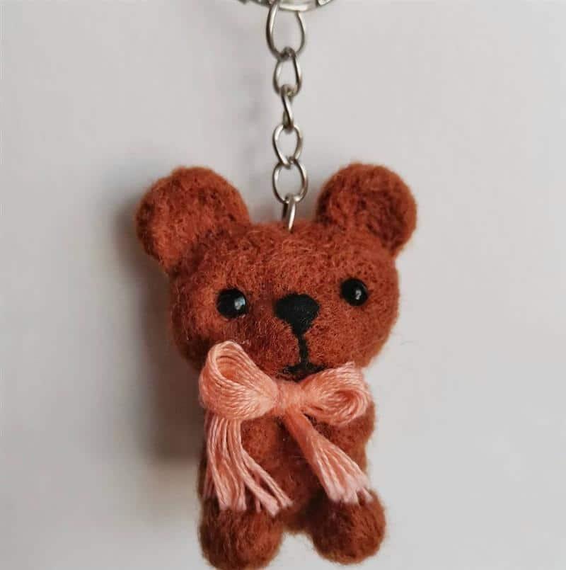 chaveiro de urso