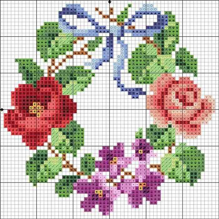 guirlandas de flores