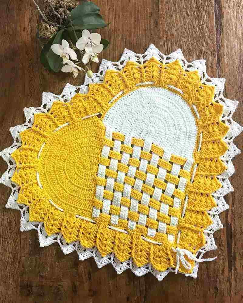 amarelo e branco