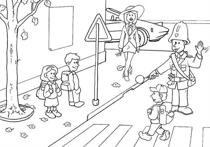 Atividade sobre faixa de pedestre