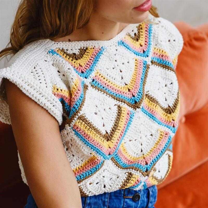 Blusas lindíssimas de crochê feminina