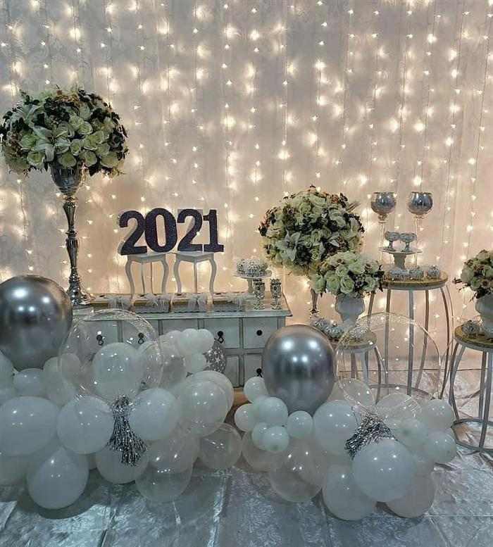 Decoração de Ano Novo 2021