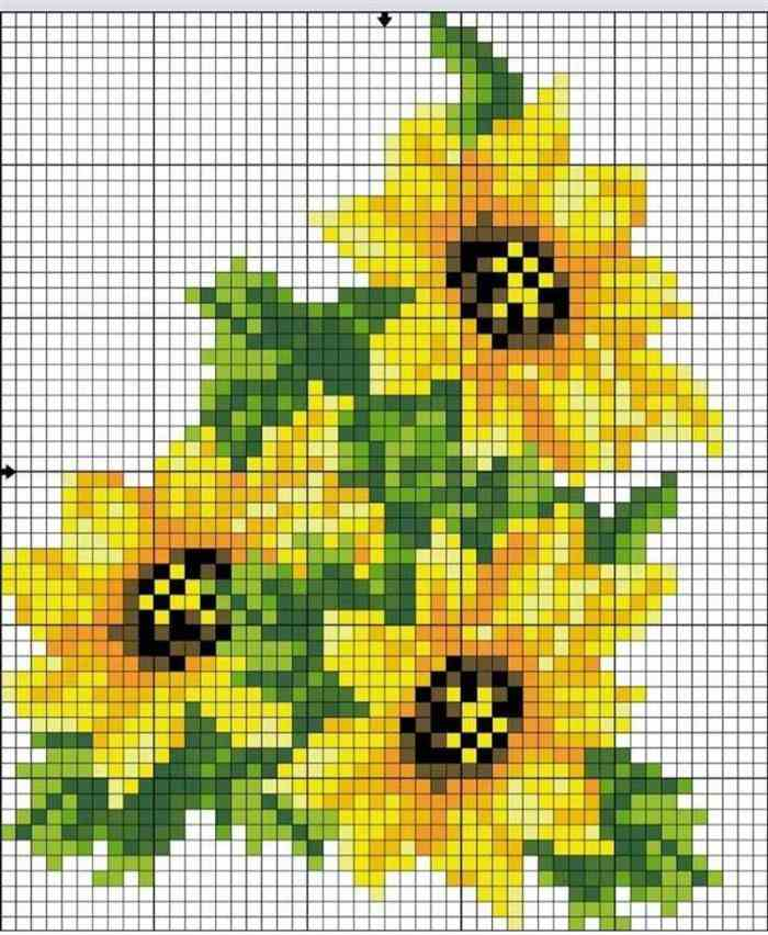 bordado de flores em tecido