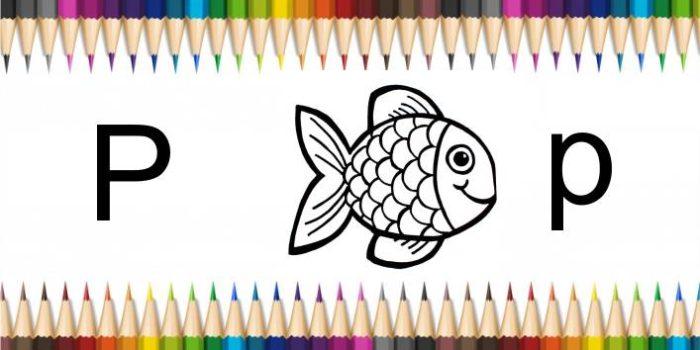 peixinho para colorir