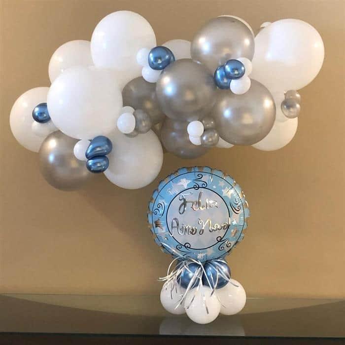 baloes decorativos ano novo