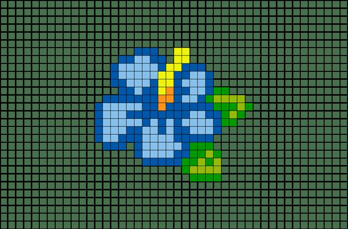 graficos de ponto cruz flores para quadros