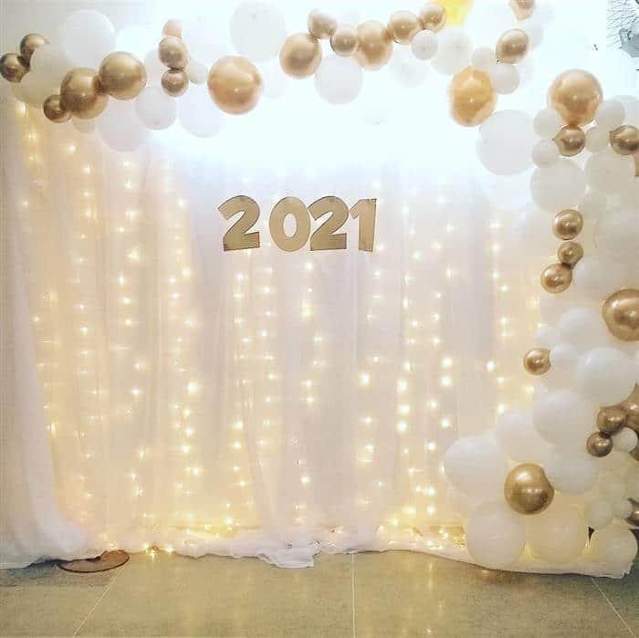 decoração de ano novo para igreja