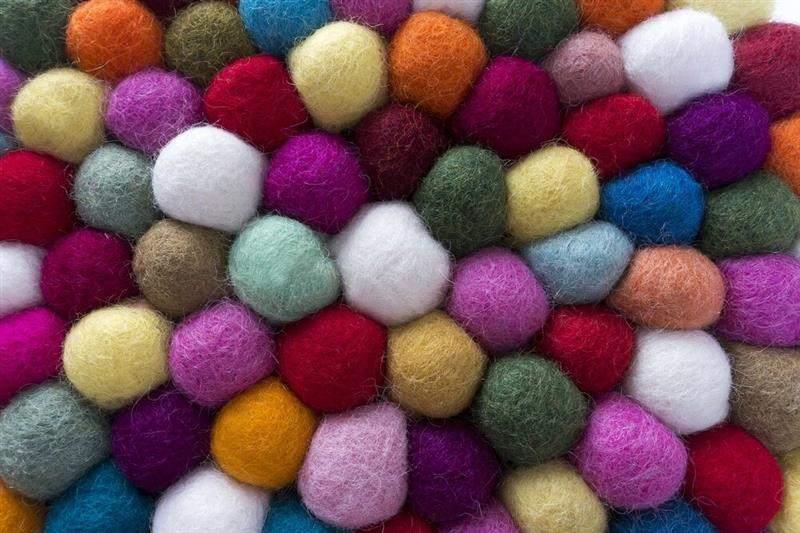 lã para feltragem