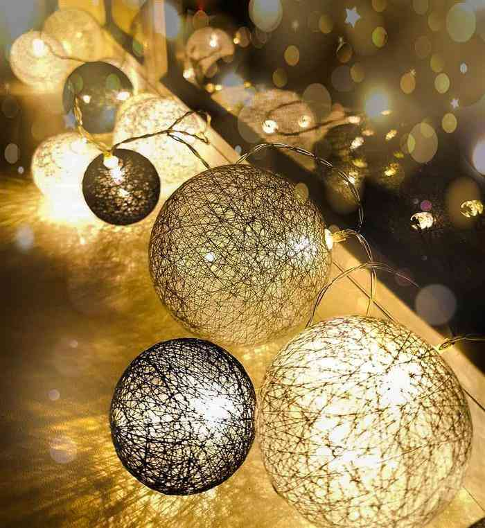 luminaria ano novo