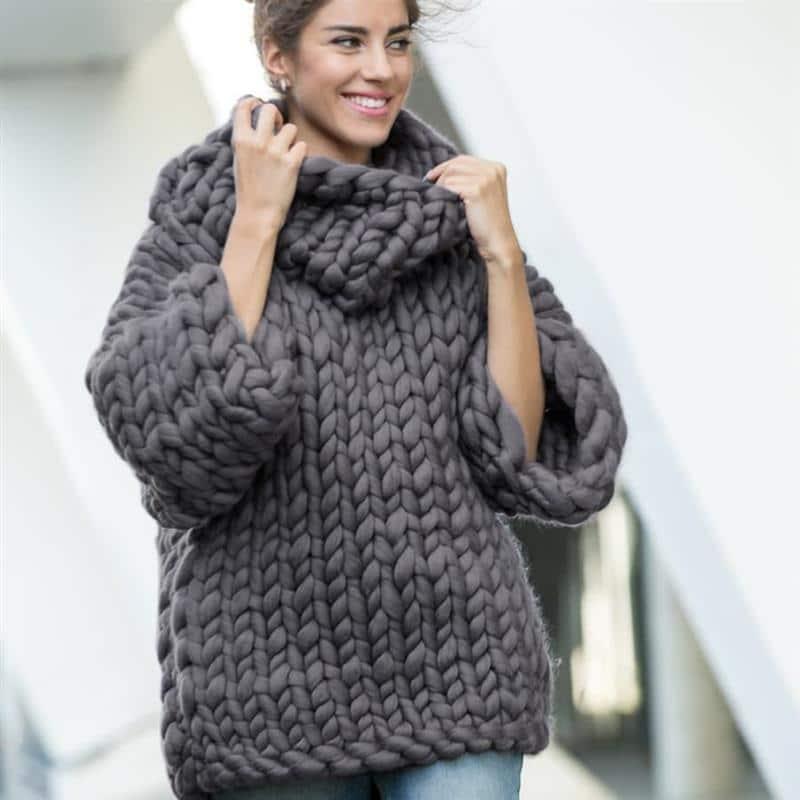 blusa de frio feminina grossa