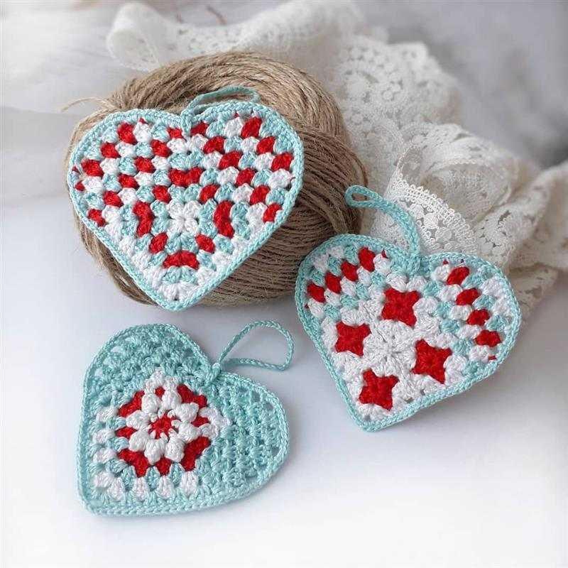 Modelos de corações diferentes