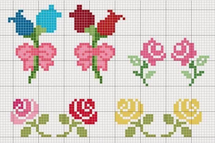 flores pequenas