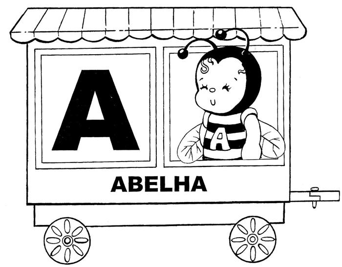 letra A para maternal