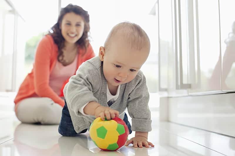atividades para berçário com bolas