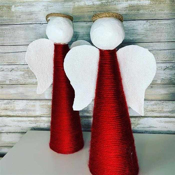 Anjinhos para decoração de natal 2021
