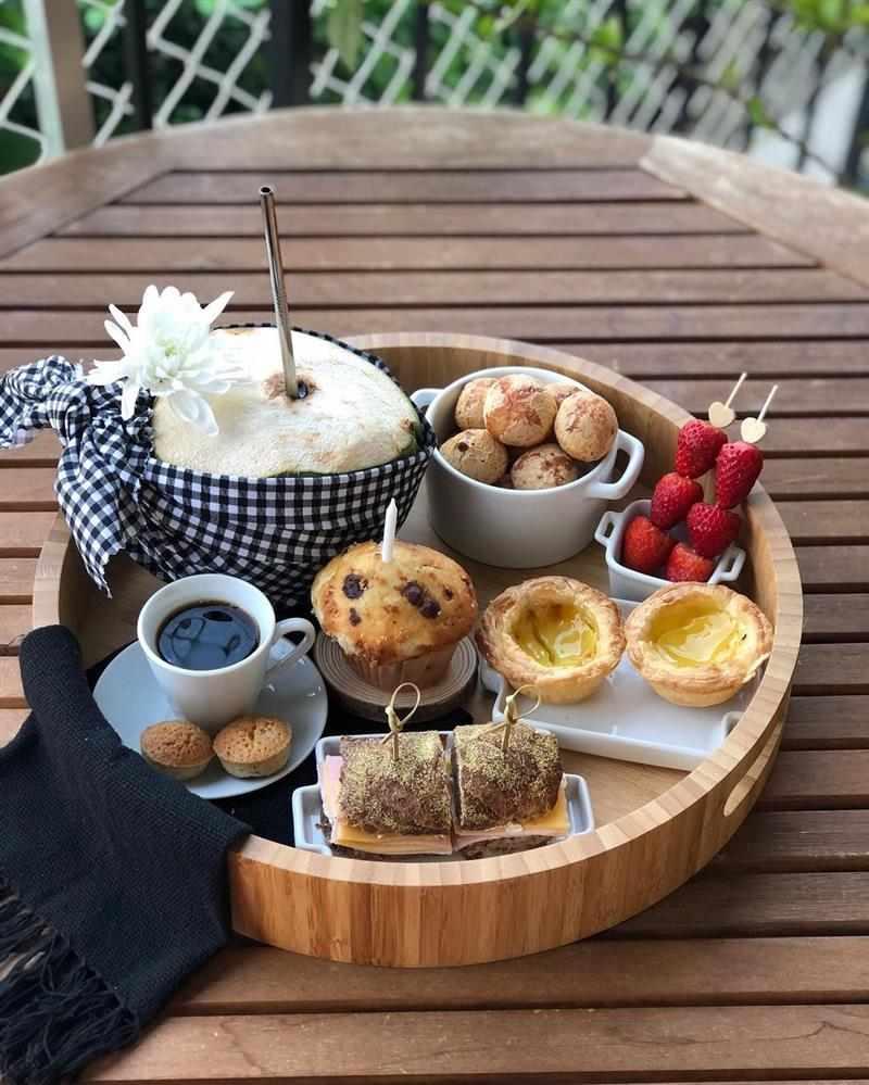 café da manhã de aniversário infantil