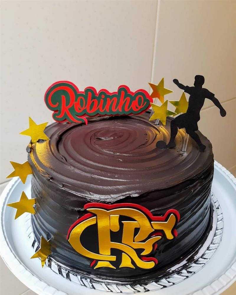bolo do flamengo simples de chocolate