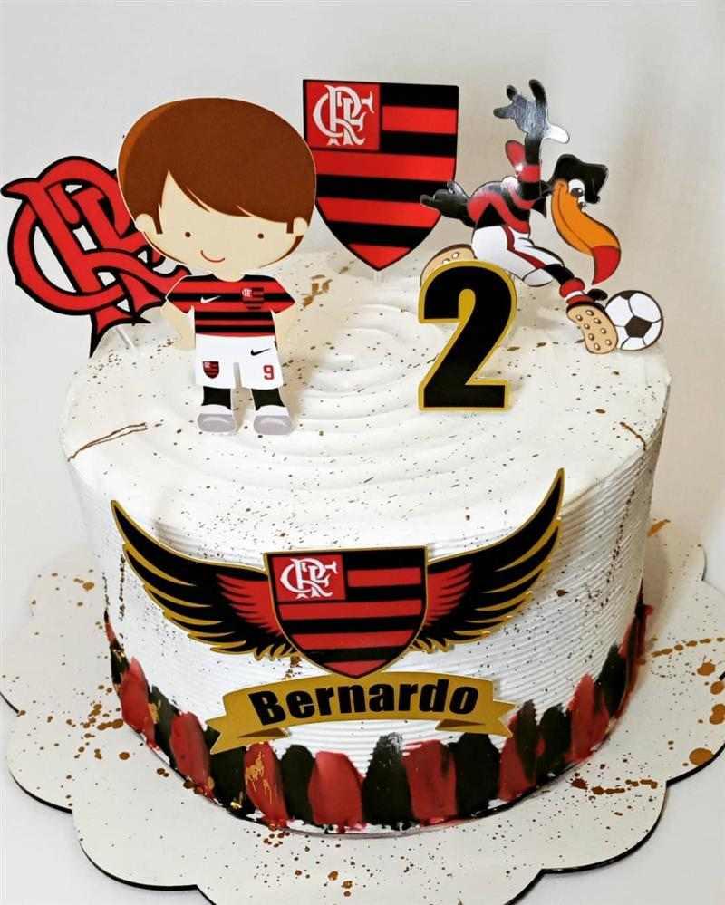 topo de bolo do flamengo infantil