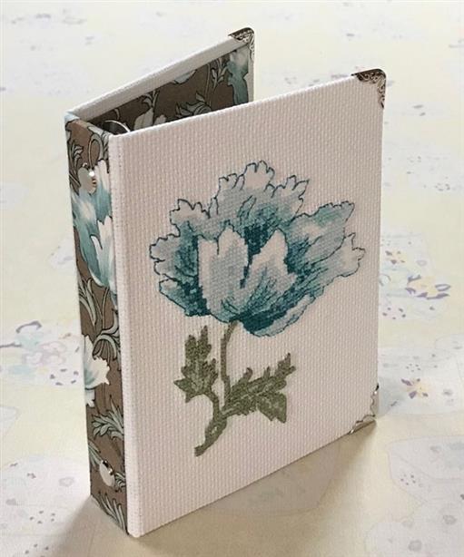flor para capa de caderno