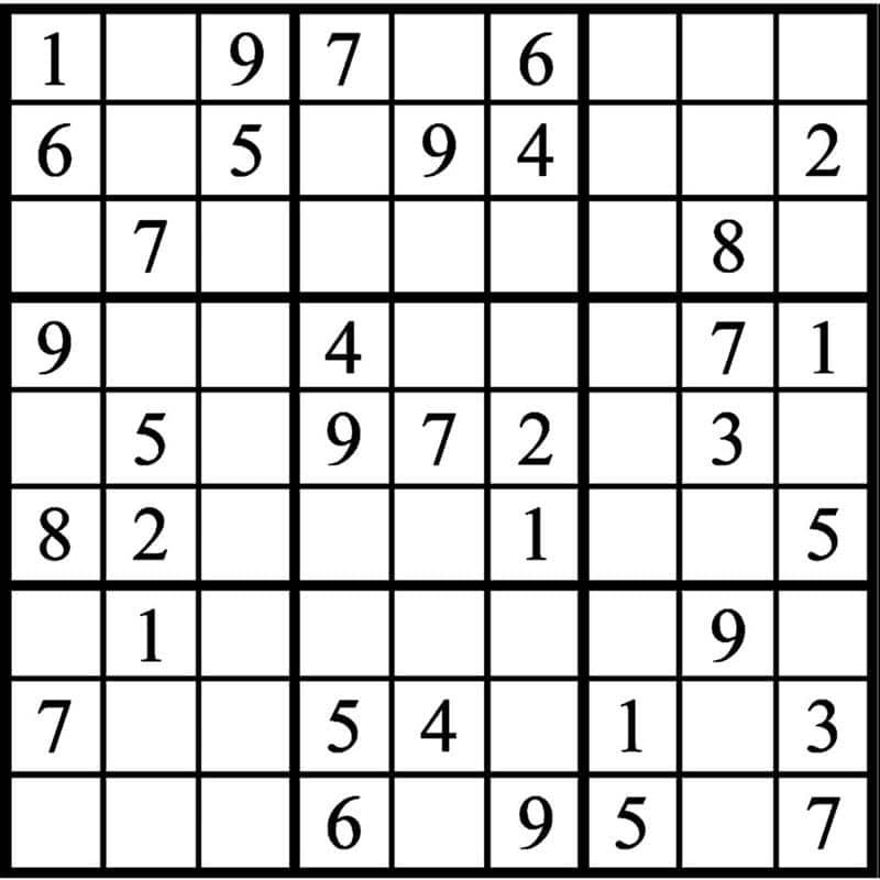 atividade sudoku para imprimir