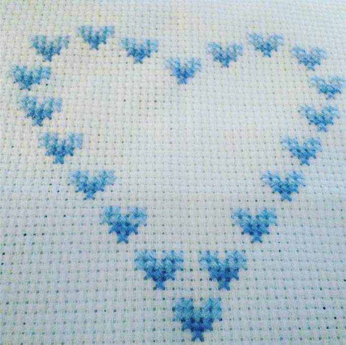 coração com mini corações