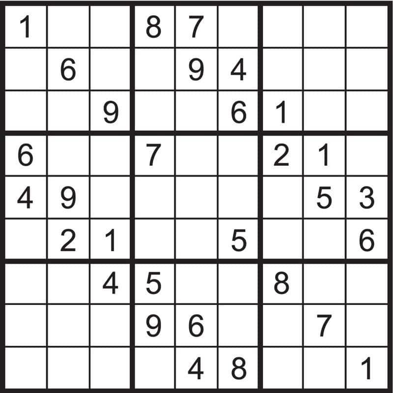 sudoku para imprimir 5 ano